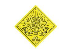 Obey the sun logo by Nick Vlow