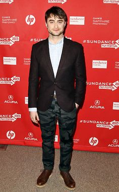 """Daniel Radcliffe at the premiere of Kill Your Darlings.  """"Burning Furiously Beautiful: The True Story of Jack Kerouac's 'On the Road,'"""" the book I'm coauthoring with Paul Maher Jr., tells the story behind the film """"Kill Your Darlings."""" #BFB"""
