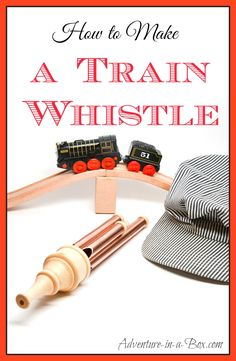Woodworking Training Make a toy train whistle for your train lover: a fun DIY toy project that will delight kids! - Make a train whistle for your train lover: a fun DIY toy project that is meant to delight kids! Woodworking For Kids, Woodworking Toys, Woodworking Workshop, Woodworking Projects, Woodworking School, Wood Projects, Whittling Projects, Youtube Woodworking, Lathe Projects