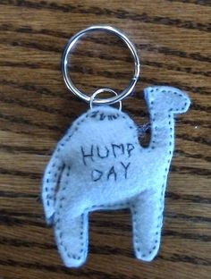 keychain made to order hump day camel by EpicLittleTreasures, $5.00