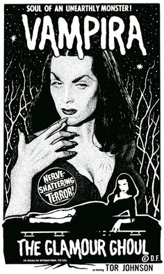 The Glamour Ghoul starring Vampira