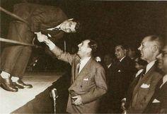 Juan Perón y Gatica