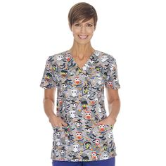 Scrubin Is Your Destination For the Lowest Prices On Nursing Scrubs, Medical Uniforms, Medical Supplies & More. Shop At Scrubin and Save On Scrubs Today! Nursing Uniforms, Medical Uniforms, Halloween Scrubs, Neck Stretches, Coat Sale, Medical Scrubs, Scrub Tops, Lady V, Samhain