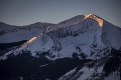 Everywhere you look in Crested Butte is like a post card waiting to be captured.