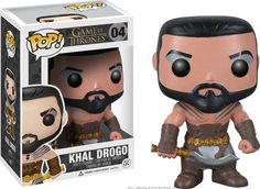 Game of Thrones Figur POP! Khal Drogo