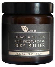 CUPUACU & NUT OILS RICH MOISTURISING BODY BUTTER 120ml