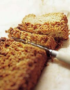 gâteau aux flocons d'avoine
