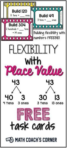 with Place Value The standards for place value have changed. Read more and grab a freebie!The standards for place value have changed. Read more and grab a freebie! Fourth Grade Math, Second Grade Math, Grade 3, Math Tutor, Teaching Math, Maths, Kindergarten Phonics, Math Literacy, Teaching Ideas
