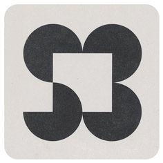 Logo for Sandra Berler Photo Gallery, Lance Wyman, 1977.