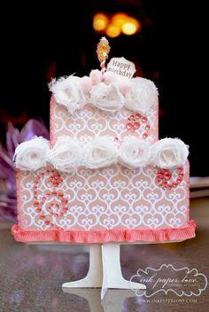 Birthday Cake Gift Card Holder...