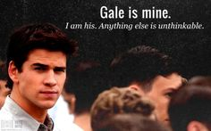 Exactly...Team Gale, she loves him!