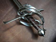 Hand-made Swords Sidesword\Shiavona - 5 by *Danelli-Armouries