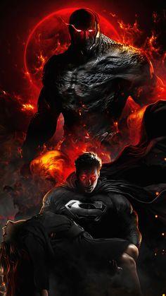 Superman Live Wallpaper, Marvel Wallpaper, Hd Wallpaper, Superman Artwork, Comic Villains, Comic Book Characters, Mundo Superman, Evil Superman, Zack Snyder Justice League