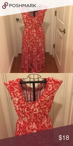Craft and Barrow Dress This beautiful red and white dress has only been worn once it's in excellent condition  croft & barrow Dresses