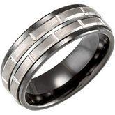 Ceramic & Tungsten Ring