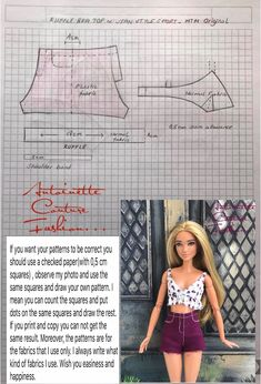 Best 12 Fashion Dolls Couture – Unlimited: Loading energy for the maths class – Made to Move Barbie Sewing Barbie Clothes, Barbie Sewing Patterns, Doll Dress Patterns, Clothing Patterns, Diy Clothes, Made To Move Barbie, Barbie Basics, Barbie Dress, Barbie Doll