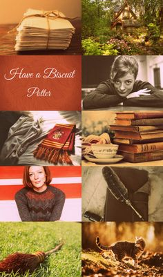 """A week after Fred and George's departure, Harry witnessed Professor McGonagall walking right past Peeves, who was determinedly loosening a crystal chandelier, and could have sworn he heard her tell the poltergeist out of the corner of her mouth, """"It unscrews the other way."""" -Order of the Phoenix Chapter 30  A young Minerva Mcgonagall aesthetic.1/2"""