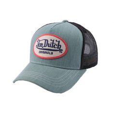Casquette Trucker Von Dutch Logo Grise Venez découvrir Von Dutch sur Hatshowroom.com #casquette #mode #streetwear http://www.hatshowroom.com/marques/25-von-dutch