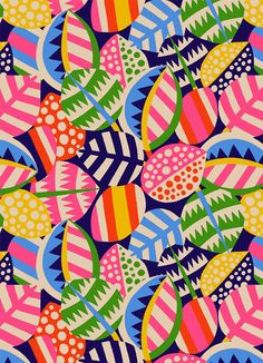 Deco leaf for bridgman art library sholto drumlanrig pattern love in 2019 т Textile Patterns, Color Patterns, Print Patterns, Illustration Blume, Pattern Illustration, Deco Floral, Motif Floral, Abstract Pattern, Pattern Art