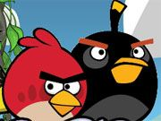 Free Online Arcade Games, Clear out the level of all the Angry Birds by creating a group of 3 or more matching colors!  Launch each bird into the group and see if you can create a chain of matching birds!  See if you can clear out each level!, #angry birds #bubble #cartoon #kids