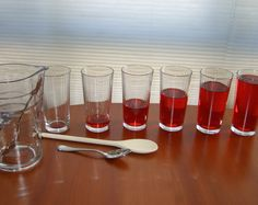 Your third grader will delight in learning about sound waves as he observes the different sounds created by tapping on glasses with varying amounts of water.