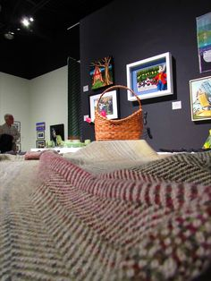 Burlington Handweavers & Spinners Guild – We work, play, and create with fibre in the heart of southern Ontario In The Heart, Merino Wool Blanket, Monet, Ontario, Art Gallery, Fiber, Gardens, Create, Inspiration