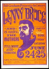 Bill Graham Presents - In Concert    Lenny Bruce    The Mothers