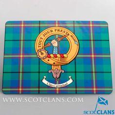 Carmichael Clan Crest Place Mat