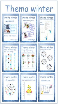 Winter theme - Path of education - Winter theme – Path of education - Winter Kids, Winter Christmas, Rhyming Pairs, Logan, Penguin Craft, Winter Illustration, Paper Balls, Winter Project, Winter Pictures