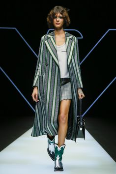 Emporio Armani Fall/Winter 2018 Milan.