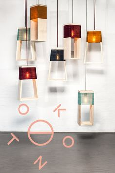 Lampes Nul & Nul 5° design by K-O-N-T-O studio