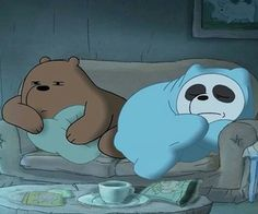 Image in We Bare Bears Love collection by ☆ on We Heart It Rainy Wallpaper, Bear Wallpaper, Cute Wallpaper Backgrounds, Disney Wallpaper, Happy Cartoon, Cartoon Pics, We Bare Bears Wallpapers, Brother Bear, We Bear
