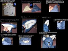 Fursuit tutorial P7- ears by Sharpe19 on deviantART