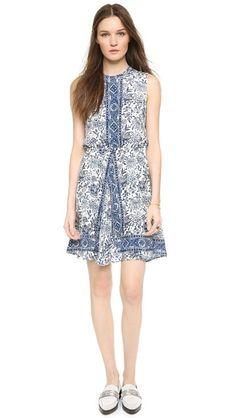 Madewell Шелковое платье Marcy