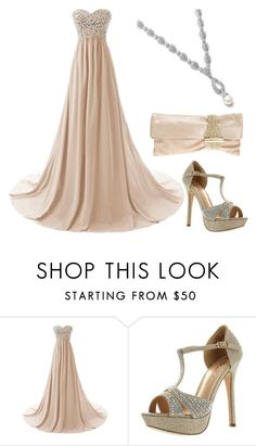 """""""Prom"""" by grateful-angel ❤ liked on Polyvore featuring De Blossom and Jimmy Choo"""
