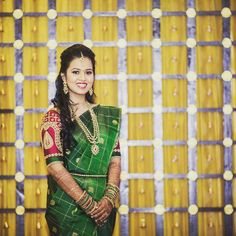 Shopzters is a South Indian wedding website Wedding Saree Blouse Designs, Saree Wedding, Wedding Attire, Wedding Events, South Indian Weddings, South Indian Bride, Indian Bridal, Wedding Saree Collection, South Indian Sarees