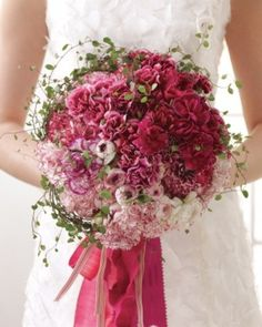 Carnation Bouquet - w/ sprigs of things