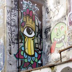 Beogradski grafiti.: Kraljica Vila / TKV / Čavketov pasaž #Beograd #Belgrade #Graffiti #Grafiti #StreetArt