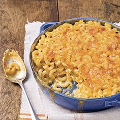 Classic Baked Macaroni and Cheese | MyRecipes.com