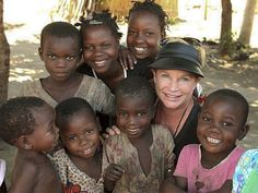 Heidi Baker - Amazing Woman, founder of Iris Ministries and rescuer of thousands upon thousands of orphans.