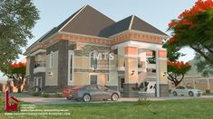 Beautiful House Plans, Bungalow House Design, Guest Bedrooms, Decorating Blogs, Traditional House, Back Home, Ground Floor, House Colors, Porch Entrance