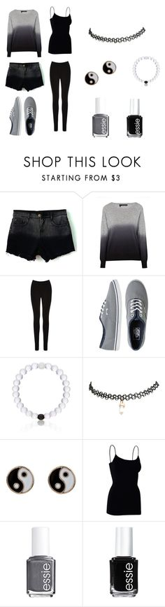 """""""Another Day."""" by donna-bender ❤ liked on Polyvore featuring 360 Sweater, Oasis, Vans, Everest, Wet Seal, Accessorize and Essie"""