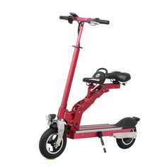 36V 350W 18.2A Electric Scooter Motorcycle Foldable with Child Seat