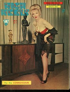 High Heels vol 2 no 4 1963 vintage adult straight magazine collectible