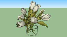 Visualização grande do modelo 3D de Tulip