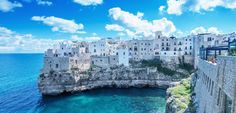 Find the best ports and marinas in Apulia and get info on your favorite sailing locations. Online marina berth reservations in Apulia. Sailing, Europe, Boat, Italy, Fine Art, Landscape, Architecture, Outdoor, Italy Travel