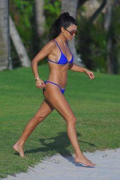 Kourtney Kardashian wearing Minimale Animale Lucid Bikini in Kool