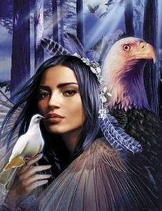 Native American Women Art | Native American Necklace Contest