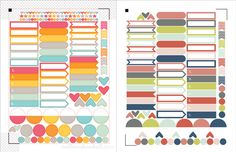 Free Planner Stickers from Allison Kimball