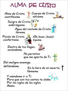 Alma de Cristo, Oracion